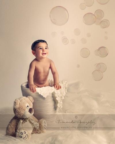Fotógrafo Arahal, Fernando González, Estudio González, Infantil,